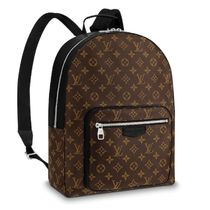 Louis Vuitton MONOGRAM MACASSAR Monogram Unisex Backpacks