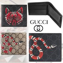 GUCCI GG Supreme Monogram Canvas Street Style Other Animal Patterns