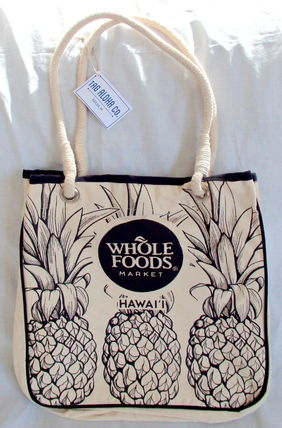 Tropical Patterns Canvas A4 Totes