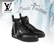 Louis Vuitton Mountain Boots Suede Street Style Chain Outdoor Boots