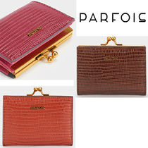 PARFOIS Faux Fur Plain Folding Wallets