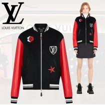Louis Vuitton Monogram Casual Style Wool Oversized Jackets