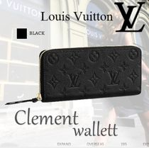 Louis Vuitton Tassel Street Style Leather Long Wallets