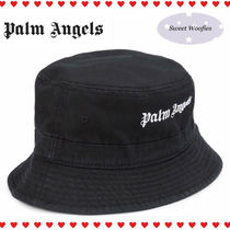 Palm Angels Unisex Street Style Bucket Hats Wide-brimmed Hats