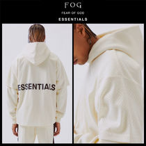 FEAR OF GOD Unisex Street Style V-Neck Collaboration Short Sleeves