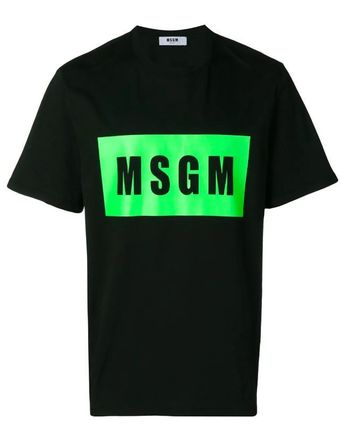 MSGM More T-Shirts Street Style Cotton T-Shirts 2