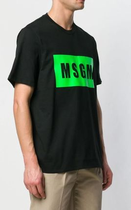 MSGM More T-Shirts Street Style Cotton T-Shirts 3