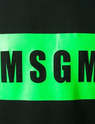 MSGM More T-Shirts Street Style Cotton T-Shirts 5