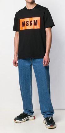 MSGM More T-Shirts Street Style Cotton T-Shirts 7