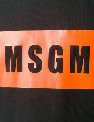 MSGM More T-Shirts Street Style Cotton T-Shirts 10