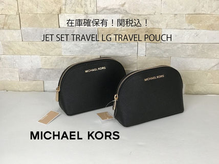 Michael Kors 2019 SS Saffiano Pouches & Cosmetic Bags