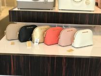 Michael Kors Saffiano Pouches & Cosmetic Bags
