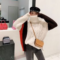 Cable Knit Casual Style Blended Fabrics Street Style