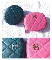 CHANEL TIMELESS CLASSICS Unisex Leather Coin Purses