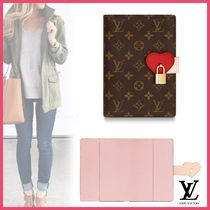 Louis Vuitton LOCKME Blended Fabrics Stationery