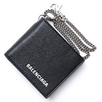BALENCIAGA Lambskin Folding Wallets
