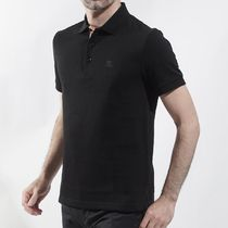 Burberry Cotton Short Sleeves Polos