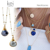 Kei Jewelry Casual Style Chain 14K Gold Fine
