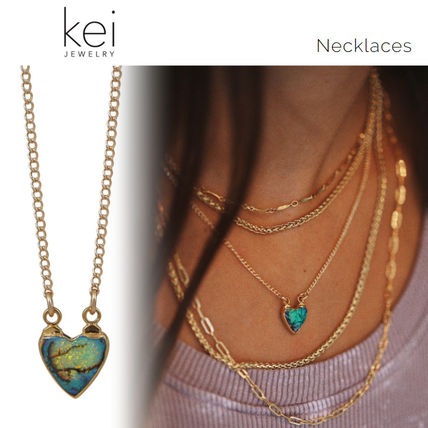 Casual Style Chain 14K Gold Fine