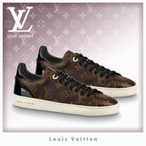 Louis Vuitton MONOGRAM Wedge Casual Style Unisex Street Style Leather