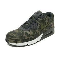 Nike AIR MAX 90 Camouflage Casual Style Street Style Khaki Low-Top Sneakers