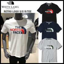 THE NORTH FACE WHITE LABEL Unisex Low Gauge U-Neck Plain Cotton Short Sleeves