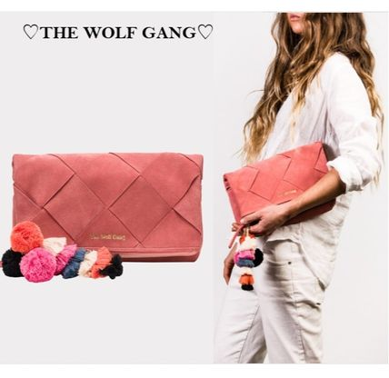 Suede Party Style Clutches