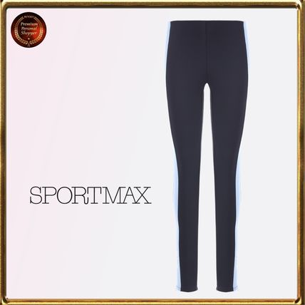 Bi-color Leggings Pants
