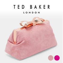 TED BAKER Suede Plain Party Style Home Party Ideas Clutches
