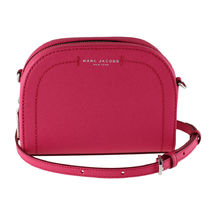 Marc by Marc Jacobs Plain Leather Crossbody Logo Shoulder Bags
