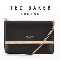 TED BAKER Plain Leather Party Style Home Party Ideas Shoulder Bags