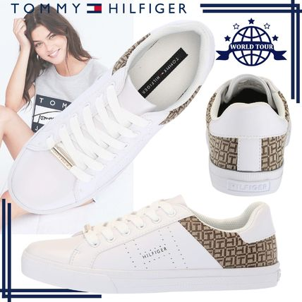 Round Toe Rubber Sole Lace-up Casual Style Faux Fur Plain
