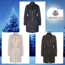 MONCLER AGATELON Plain Long Down Jackets