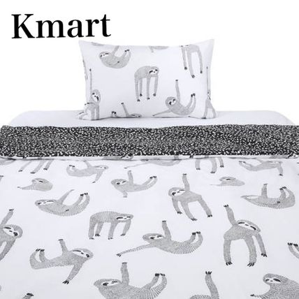 Pillowcases Comforter Covers Black & White Characters
