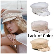 lack of color Unisex Street Style Beret & Huting