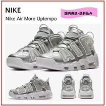 Nike AIR MORE UPTEMPO Rubber Sole Casual Style Unisex Street Style