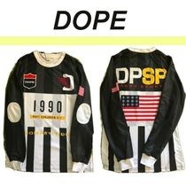 DOPE couture Pullovers Street Style Long Sleeves Tops