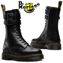 Dr Martens Casual Style Unisex Street Style Plain Flat Boots