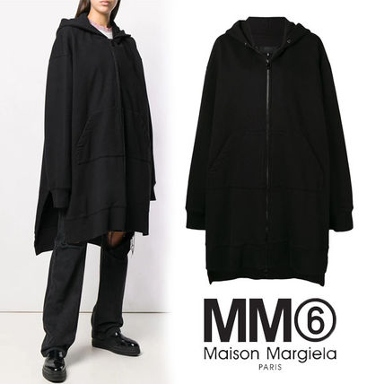 Unisex Plain Cotton Long Oversized Puff Sleeves