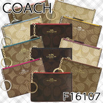 Coach SIGNATURE Leather Card Holders