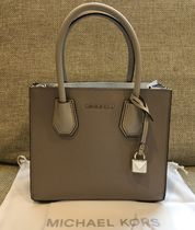 Michael Kors MERCER 2WAY Leather Shoulder Bags