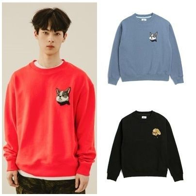 Unisex Street Style Long Sleeves Cotton Sweatshirts