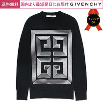 GIVENCHY Crew Neck Wool Long Sleeves Knits & Sweaters