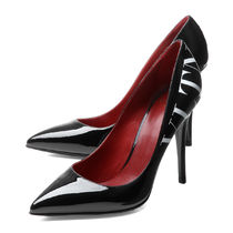 VALENTINO Leather Pin Heels Pointed Toe Pumps & Mules