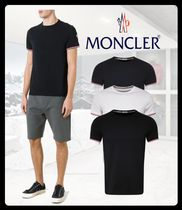 MONCLER Street Style Plain Short Sleeves T-Shirts