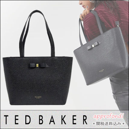 884720a56 TED BAKER 2019 SS Plain Leather Elegant Style Totes by approfondi ...