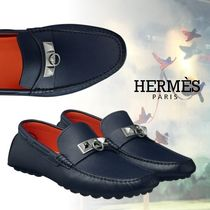 HERMES Men s Loafers   Slip-ons  Shop Online in US   BUYMA 32be330b2eb8