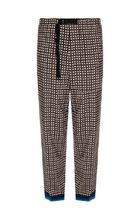 Dries Van Noten Printed Pants Other Check Patterns Cotton Patterned Pants