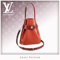 Louis Vuitton EPI Casual Style 3WAY Leather Handbags