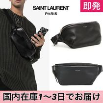 Saint Laurent Calfskin Street Style Plain Messenger & Shoulder Bags